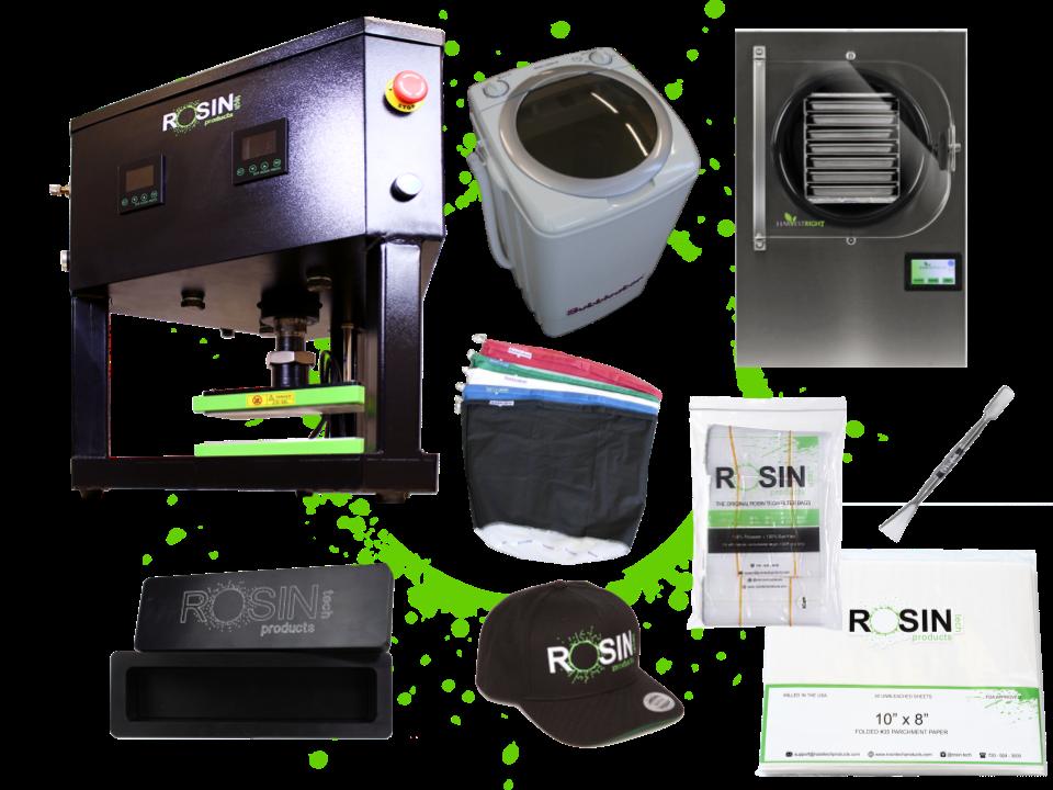 Rosin Tech Ice Water Kit Combo
