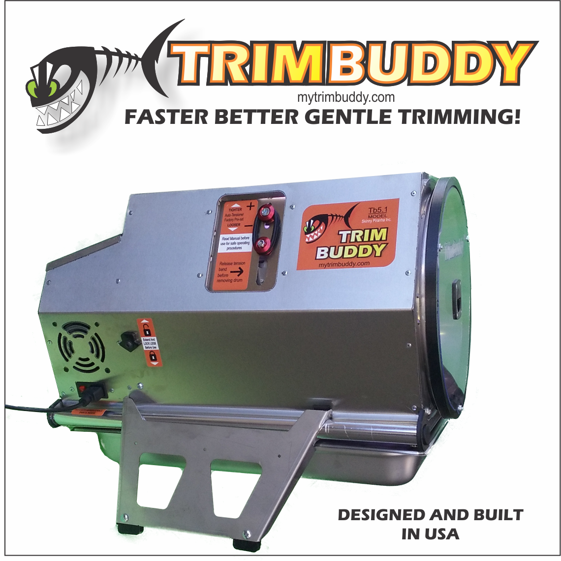 TrimBuddy Dry Trimming Machine