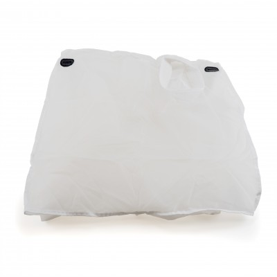 Twister T4 Dry Leaf Collector Filter Outer Bag, White 70 Micron