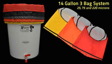 14 Gallon XXXtractor Bag (3 Bag System 25, 75 and 220 microns)