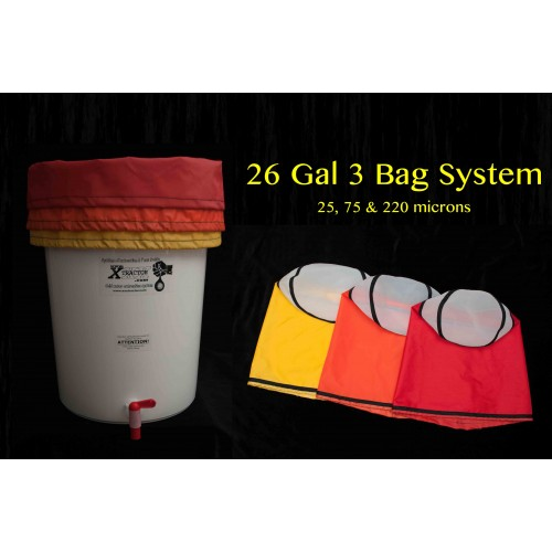 XXXtractor Bag 26 Gallon System