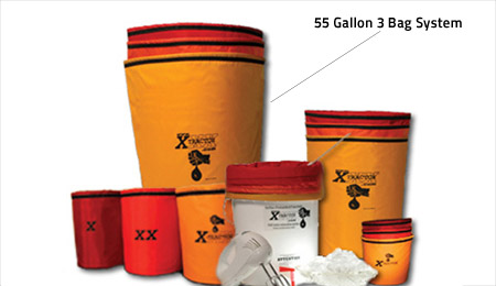 55 Gallon XXXtractor 3 Bag System