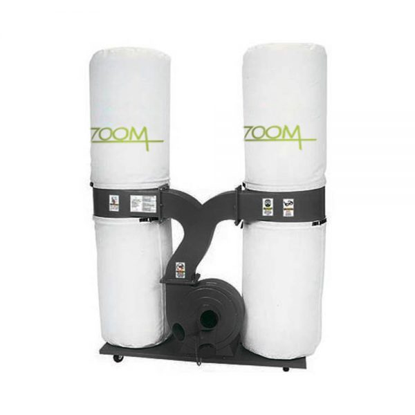 Zoom 3hp Double Bag Vacuum